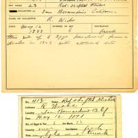 Thomas Wilmer Dewing, egg card # 306