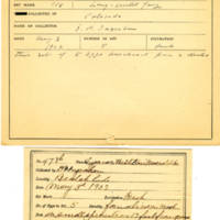 Thomas Wilmer Dewing, egg card # 382
