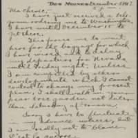 1917-12-05 Conger Reynolds to Daphne Goodenough