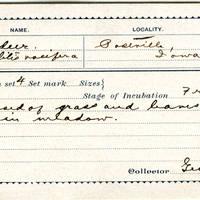 George Thompson, egg card # gt001u