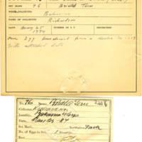 Thomas Wilmer Dewing, egg card # 057