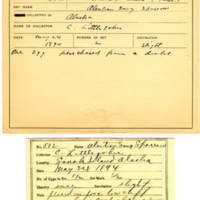 Thomas Wilmer Dewing, egg card # 466