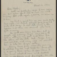 1944-03-12 Helen Fox to Bess Peebles Fox Page 1