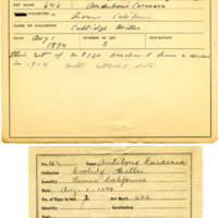 Thomas Wilmer Dewing, egg card # 242