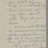 December 1944 Stephen Bush to Helen & Bess Peebles Fox Page 2