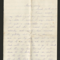 Correspondence to Albert Miller from family and friends, Boone County, Iowa, 1876-1916