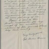 1945-09-14 Cpl. Gailen Brown to Dave Elder Page 2
