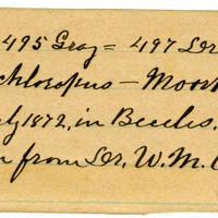 Clinton Mellen Jones, egg card # 188